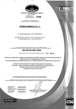 UNIENISO90012008